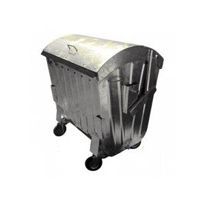 Оцинкованный контейнер 1100 л
