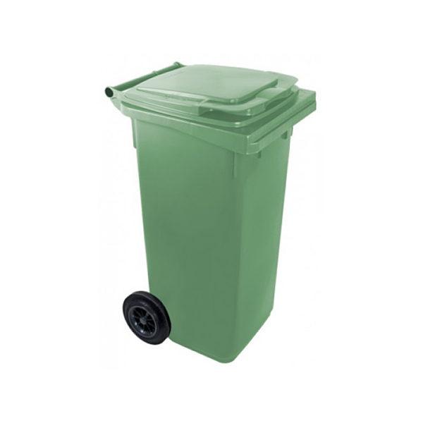 Container pentru gunoi cu roti EU 120 l green