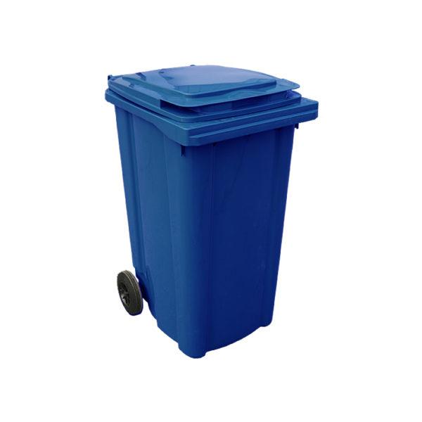 Container pentru gunoi cu roti EU 240 l blue
