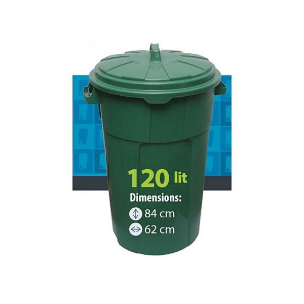 Urna pentru gunoi 120 l