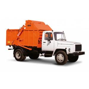 Camion De Gunoi Cu încărcătura Din Spate GAZ 3309