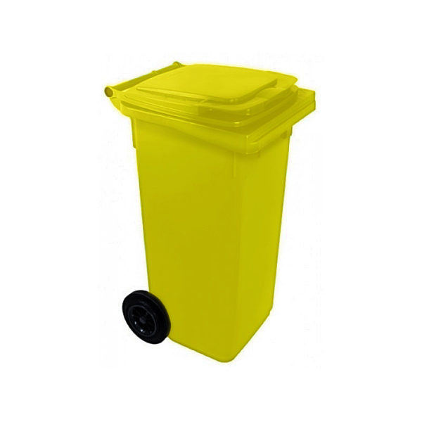 Container dlea musora s kolesamiи EU 120 l (yellow)