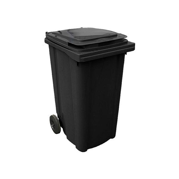 container dlea musora s kolesami EU 240 l black