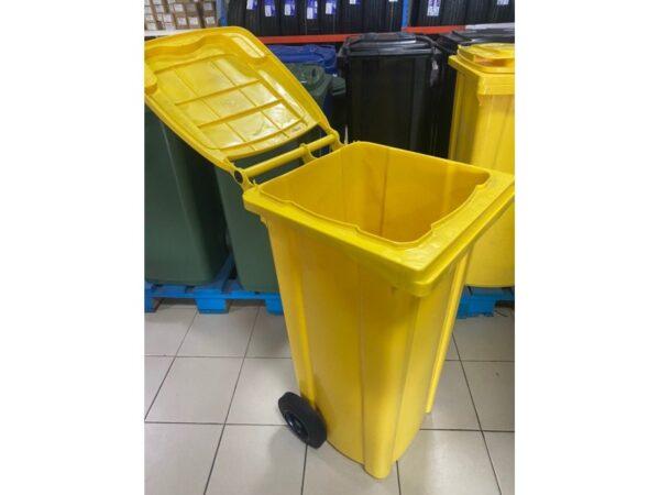 container-dlea-musora-s-kolesami-eu-120-l-yellow 1