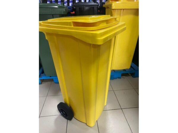 container-dlea-musora-s-kolesami-eu-120-l-yellow 2