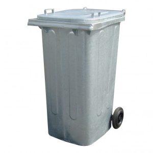 Бак для мусора оцинкованный (огнеупорный) 240 литров