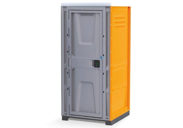 Cabină de toaletă Toypek portocalie asamblată