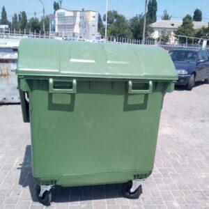 Kontejner Dlya Musora 1100 L (kruglaya Kryshka) (zelenyj) 2