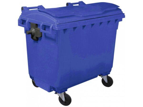 Plastikovyj musornyj kontejner obiem 660 Litrov 1