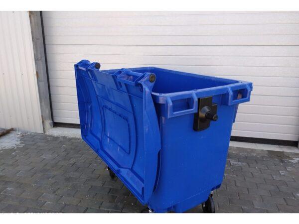 Plastikovyj musornyj kontejner obiem 660 Litrov 2