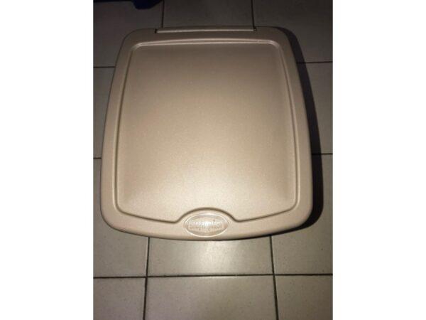 Plastikovaya urna s pedalyu 20 l (korichnevaya) 6