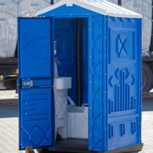 Cabină De Toaletă Din Plastic WC LUX, Lavoar