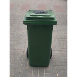 Pubela De Gunoi 120l UE Pentru Colectarea Separată A Deșeurilor (verde)