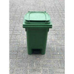 Coș De Gunoi Cu Pedală 60 L (verde) UE