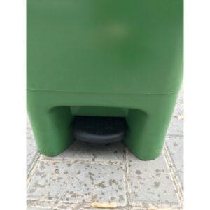 Musornyj Bak S Pedaliyu 60l (zelenyj) EU 02